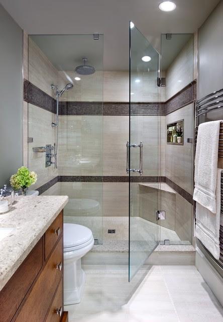 Jane Lockhart, Bathroom Mission style - Contemporary ...