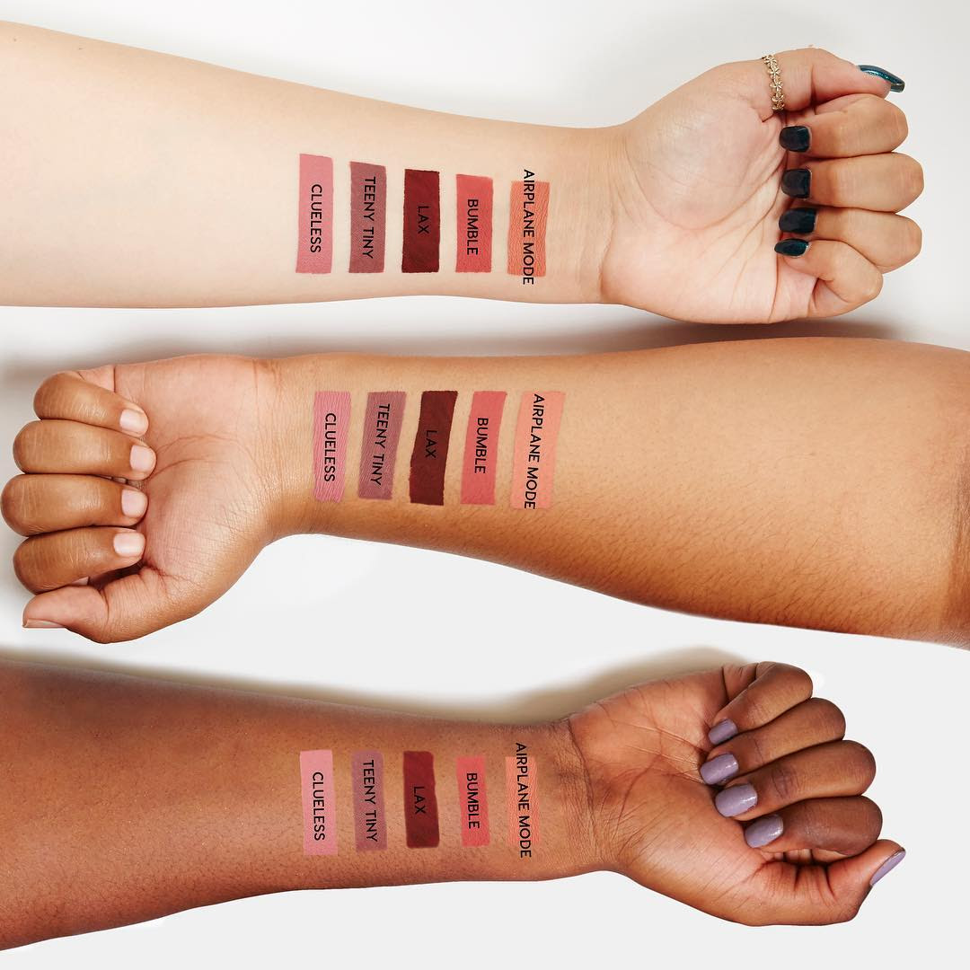 ColourPop Holiday 2016 Lip Kit Swatches