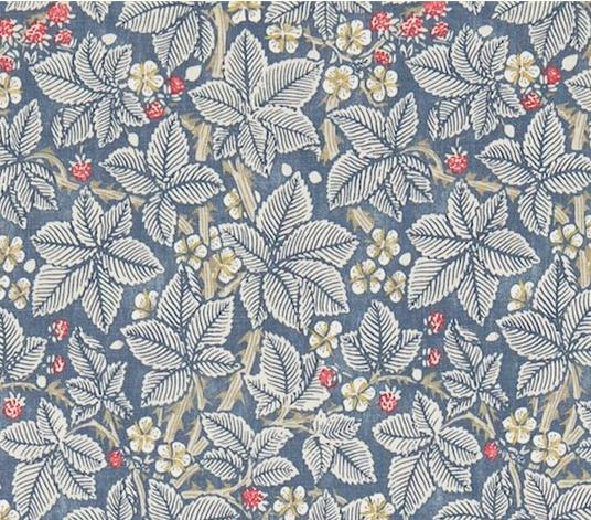 Tyg William Morris  Bramble  Östermalms Textilateljé