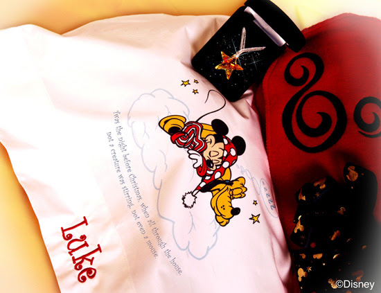 Personalized Disney Pillowcase