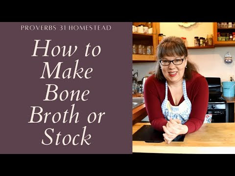 Making Bone Broth or Stock in an Instant Pot (with video)