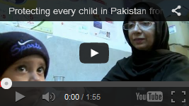 Video: Protecting every child in Pakistan from measles