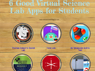 Virtual Science Lab Apps for Students and Young Learners