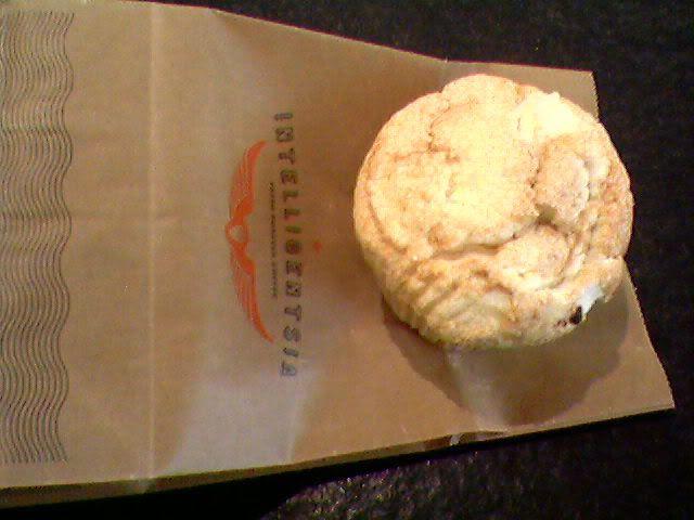 angel food cake muffin