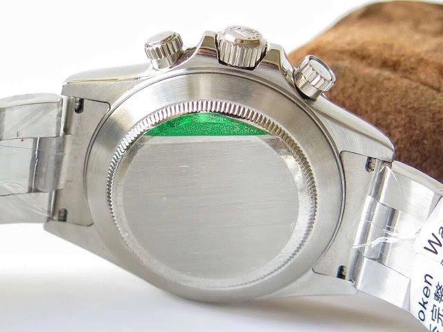Replica Rolex Daytona Solid Case Back