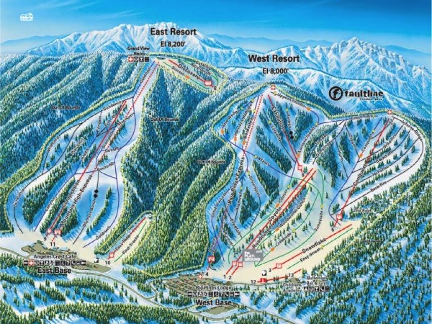 11 Homewood Ski Resort Map - Maps Database Source