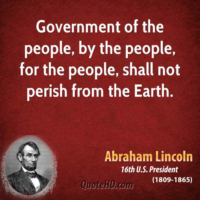 Abraham Lincoln Government Quotes Quotehd