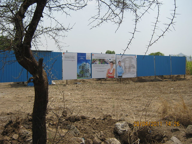 Site of Apex Athena 1.5 BHK 2 BHK Flats opposite Elite Homes at Wakad Pune