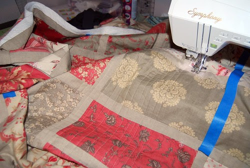 quilting along