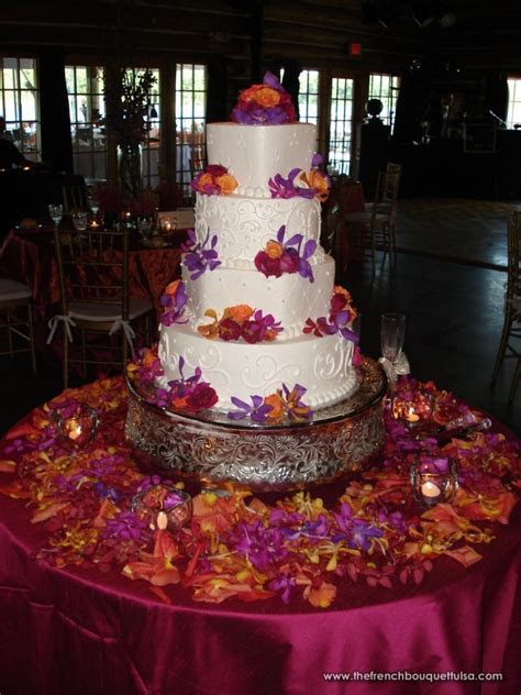Plum & Orange Wedding on Pinterest   Orange, Purple and