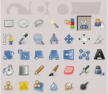 L'icona delle forbici intelligenti nella barra degli strumenti
