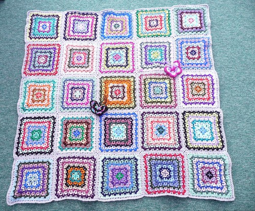 This blanket was made and donated by 'jenn1feranne' (RAV). Thank you so much! It's absolutely gorgeous!