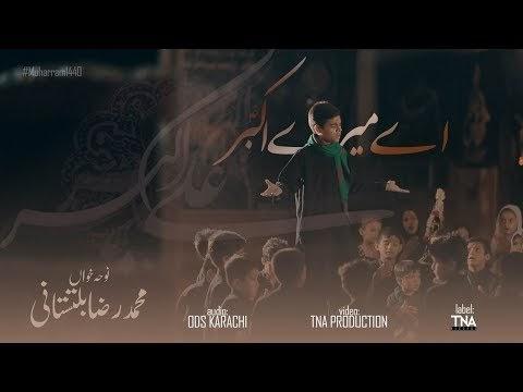 Ae Mere Akbar Tujh Pe Maa Qurban-Muhammad Raza Baltistani-New Noha 1440/...
