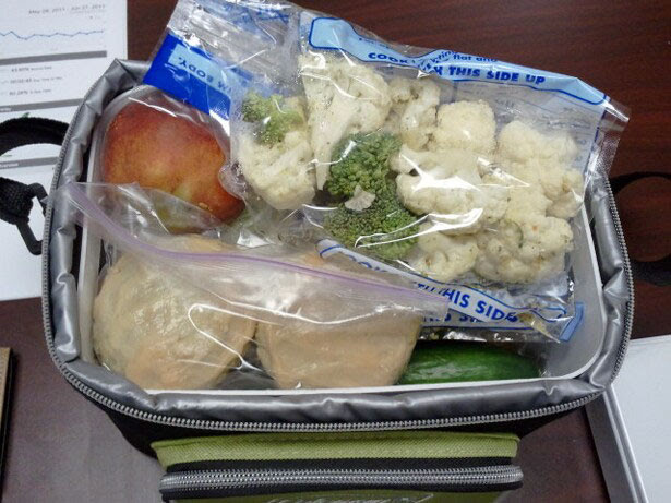 Clean Eating Cooler - Chelle's food for today - Figure Competition Diet