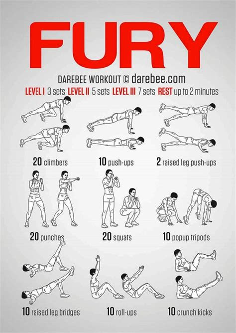 fury road bodyweight workout  inspired