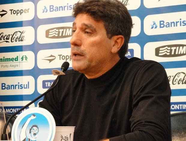 Renato Gaúcho deixa o Grêmio (Foto: Eduardo Cecconi/Globoesporte.com)