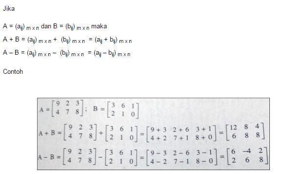 Cara Menghitung Rumus Matriks Matematika Rumus Rumus