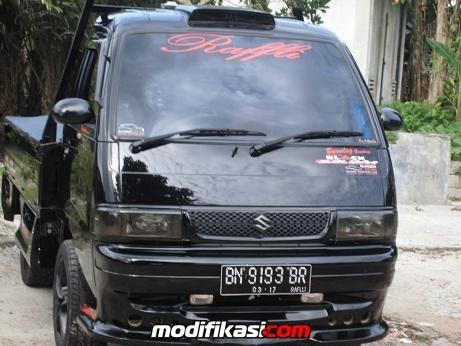 Modifikasi Mobil Suzuki Carry Pick Up - Modif 9
