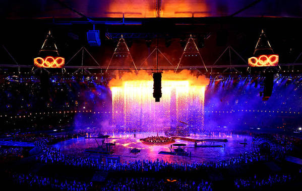 The opening ceremony of the 2012 Olympic Games.
