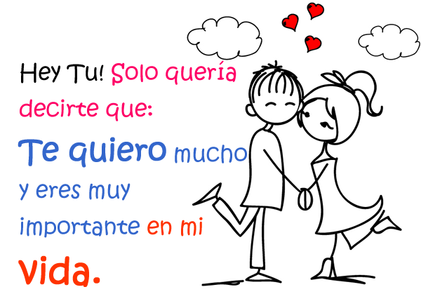 Te Quiero Mucho Mi Amor Frases