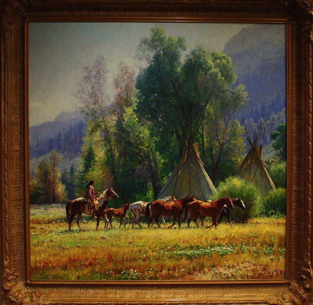 Martin Grelle painting