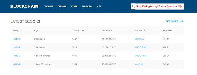 Cách xử lý giao dịch Bitcoin trên Blockchain.info không xác nhận bị Pending