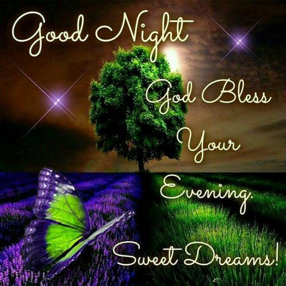 Goodnight God Bless Your Evening Sweet Dreams Pictures Photos