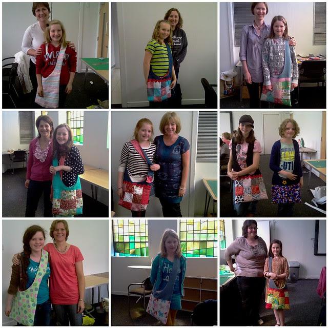 Adult/Kids Slouch Bag workshop June'12