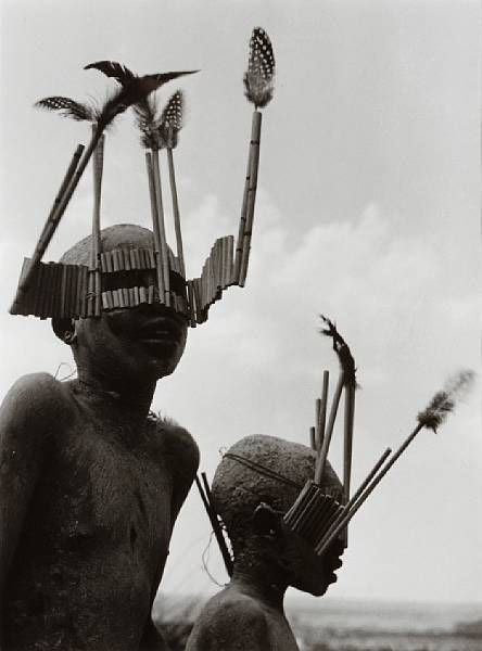 Boys of Wagogo tribe in Circumcision Ceremony, Tanganyika, Tanzania, 1948* by George Rodger