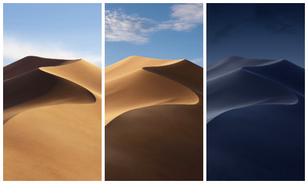 Mac Geeks Can Now Use Mojave S Light Dark Mode Wallpapers On Ios