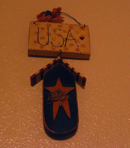USA hanging decoration