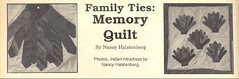 Family Ties Quilt