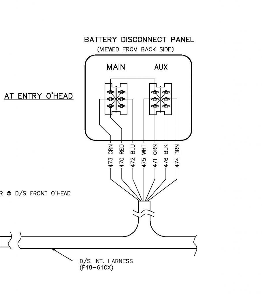 90f 1999 Fleetwood Bounder Battery Wiring Diagram Wiring Library