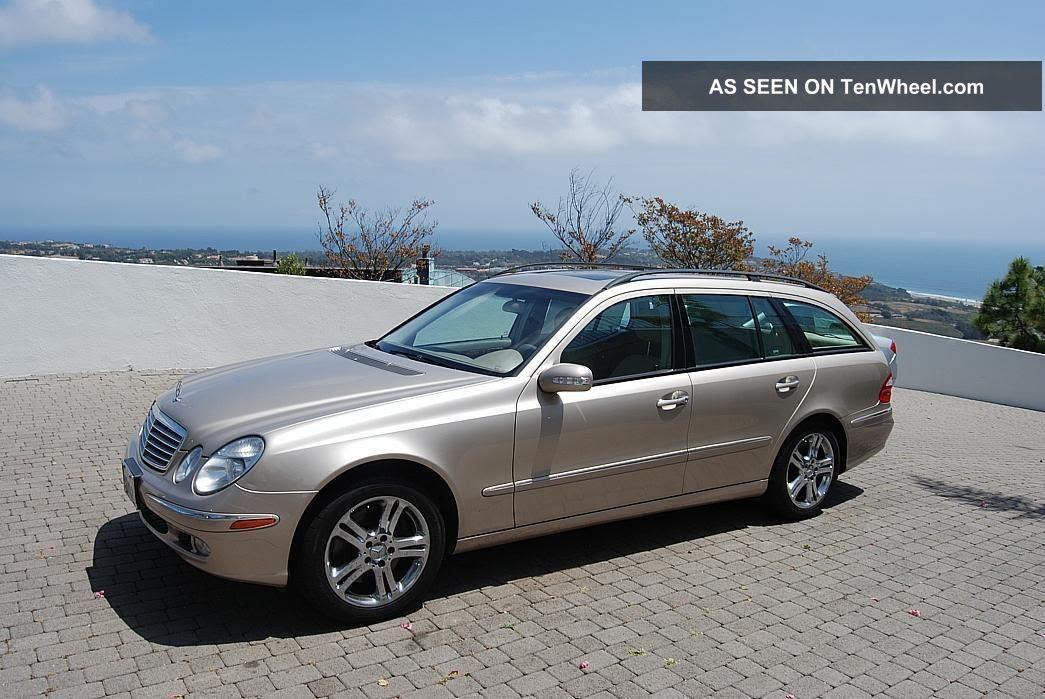 2004 California Mercedes - Benz E500 4matic Wagon All ...
