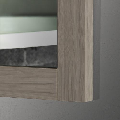 30 X 36 Driftwood Grey Thick Wood Mirror Mirrors 2 Go Modern