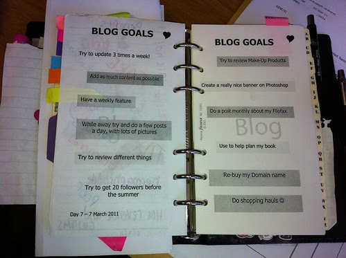 Day 7 - Blog Goals by imysworld