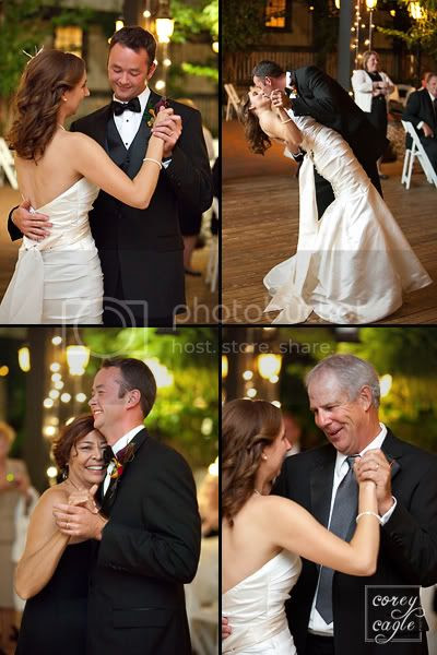 first dance by Corey Cagle Photography