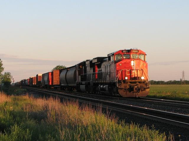 CN 2511 in Winnipeg Manitoba