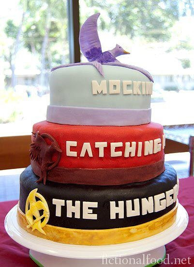 What the?! Is this real life? The Hunger Games cake.