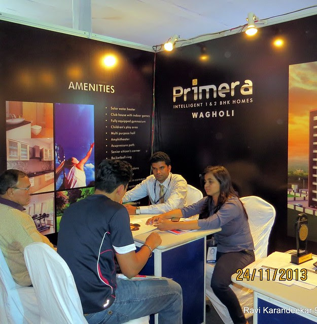 www.primerahomes.in - Primera 1 BHK & 2 BHK Flats at Wagholi - Pune Property Exhibition, Times Property Expo 'Investment Festival 2013', 23rd & 24th November 2013