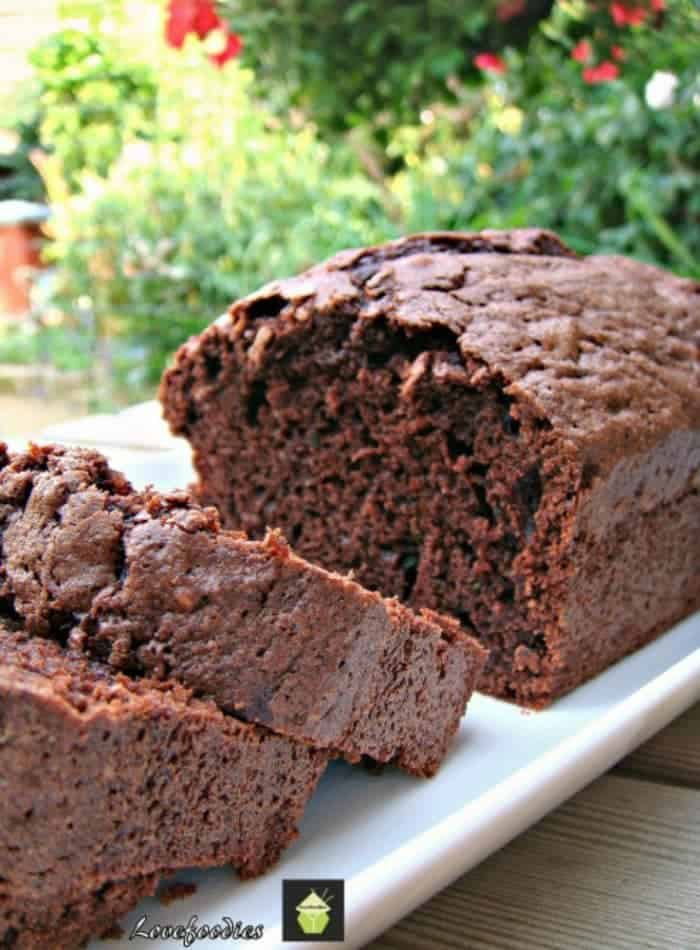 Moist Chocolate Zucchini Bread - Lovefoodies