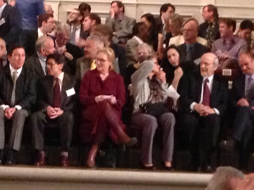 First Row, American Academy of Arts and Letters Ceremonial