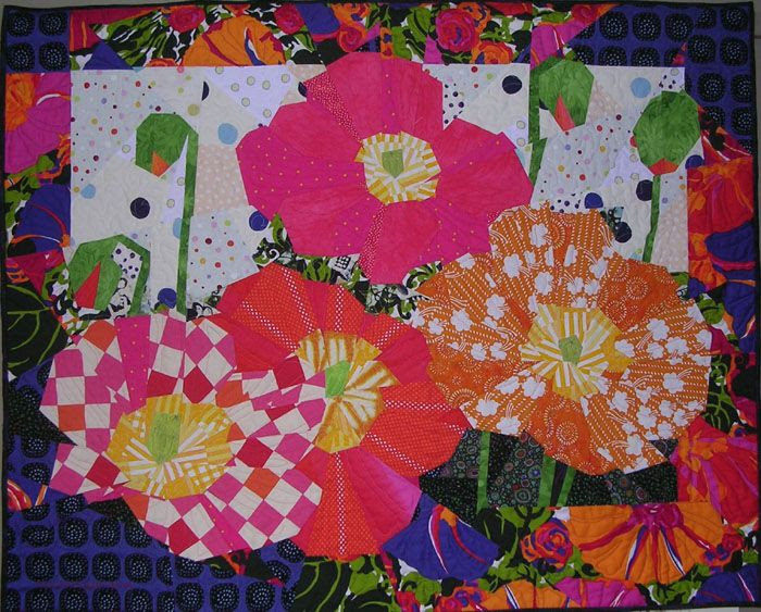 Hot Poppies. Ruth B. McDowell. 2006.
