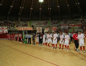América-RN e URV decidiram Taça Cidade do Natal de Futsal (Foto: Augusto Gomes)