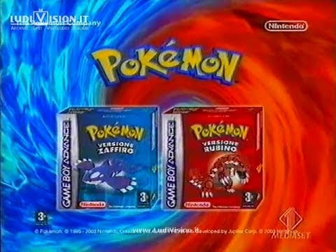 Game Boy Advance - Pokèmon Rubino e Zaffiro (2004)