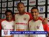 Paulo Ricardo, Alex Moraes e Anderson Rafael: eles buscam seu espaço no Paulista