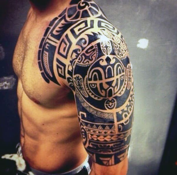 60 Half Sleeve Tattoos For Men Manly Designs And Masterpieces