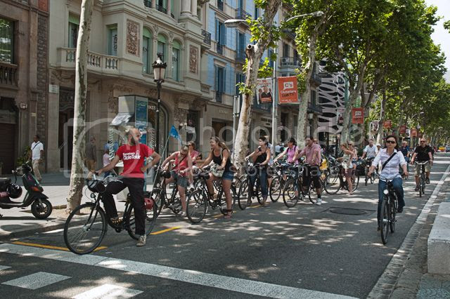 Guided Bike Tours In and Around Barcelona, Spain [enlarge]