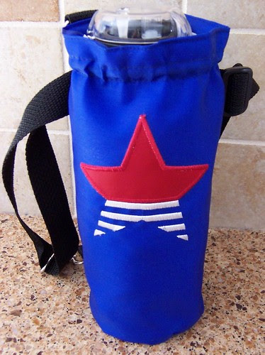 Star Appliqué Bottle Carrier