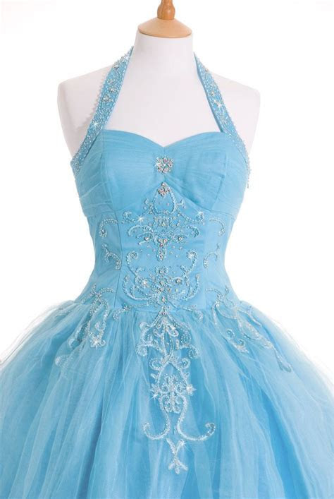 Gold Blue wedding dress gown   plus size wedding dresses